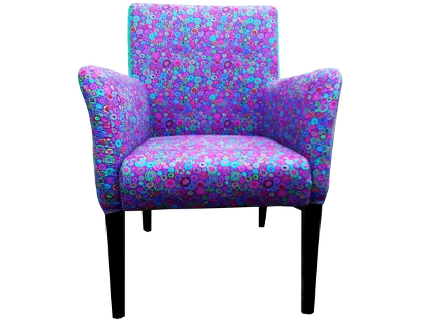 Blue purple chair