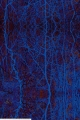 Jersey fabric with blue abstract fabric print